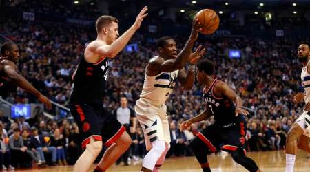 NBA roundup: Milwaukee Bucks end Toronto Raptors ' 7-game streak