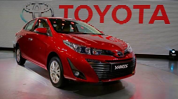 Auto Expo 2018 Toyota Yaris Sedan Launch By April In India