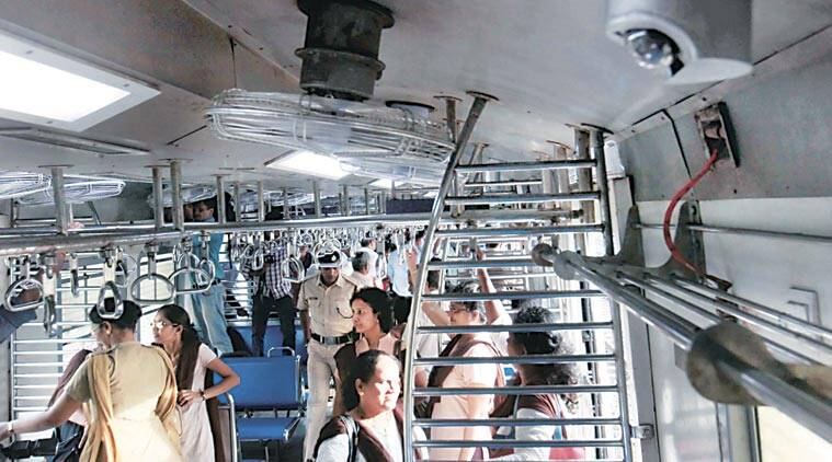 Kolkata ladies' compartment CCTV cameras, Kolkata Local Train, EMU Locals CCTV cameras, Kolkata EMU Locals ladies' compartment, CCTV Cameras, India News, Indian Express, Indian Express News