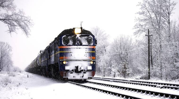 Russian train makes a special stop to help a 14-year-old girl get to school