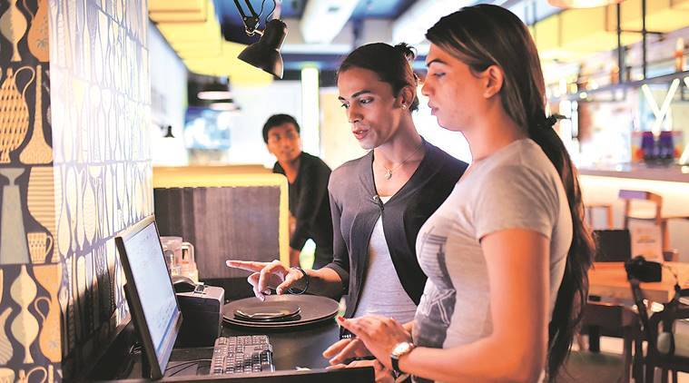 Transgender staff at Third Eye Cafe in Vashi