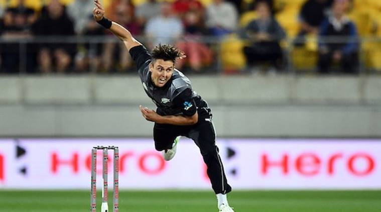 New Zealand vs England, NZ vs Eng, England New Zealand, Trent Boult, Trent Boult wickets, Trent Boult bowling, sports news, cricket, Indian Express