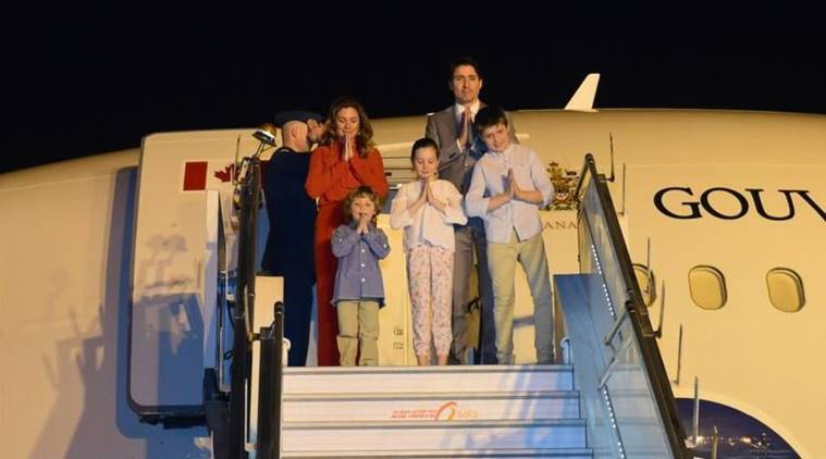 Justin Trudeau, Canada PM visits India, Trudeau visits India, Trudeau Modi meet, Indian Express, India News