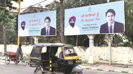 Amritsar readies for Canadian PM Justin Trudeau with welcome banners, siropa
