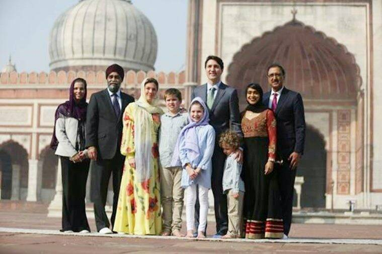 Justin Trudeau, Justin Trudeau India visit, Justin Trudeau cute pictures, Justin Trudeau fashion, Justin Trudeau India fashion, Justin Trudeau canada prime minister india, Justin Trudeau style icon, indian express, indian express news