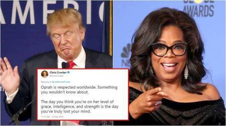 Donald Trump slammed on Twitter for calling Oprah Winfrey 'insecure'