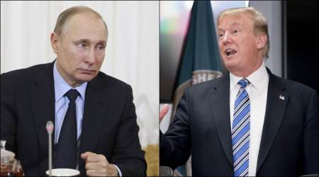 Vladimir Putin praises Donald Trump over planned meeting with Kim Jong-un