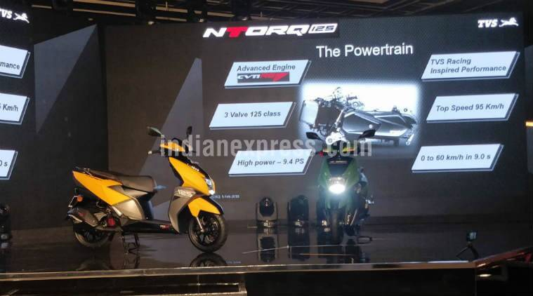 TVS NTORQ 125 scooter with Smart features: Navigation to parking