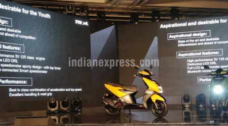 TVS NTORQ 125 scooter with Bluetooth, smart features launched in India at Rs 58,750
