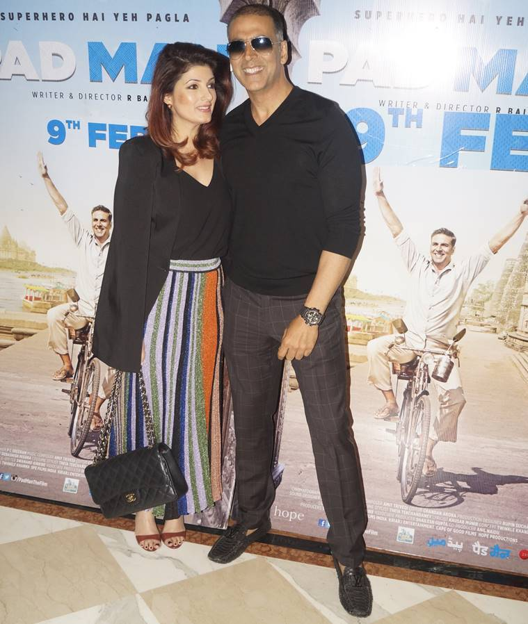 You could style Twinkle Khanna's ultra feminine skirt in many other ways too