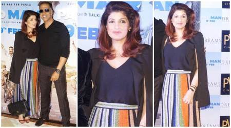 PadMan promos: Twinkle Khanna's metallic skirt is perfect for your spring wardrobe; here's how much it costs