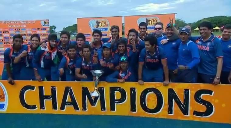 Cricketer Manjot Kalra's family celebrates after India wins U19 World Cup