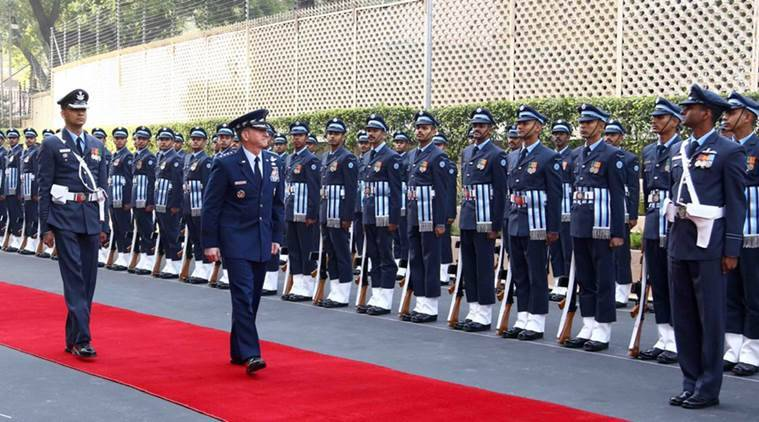 US Air Force chief flies in Tejas fighter jet