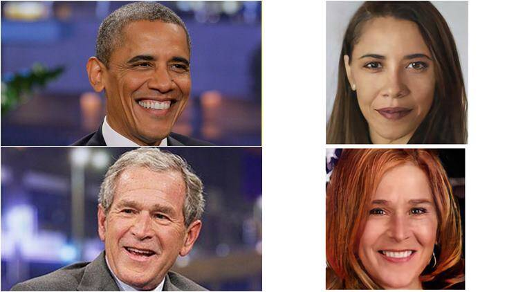 redditor uses face swap to create female versions of us presidents