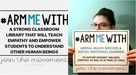#ArmMeWith BOOKS not BULLETS: Teachers start a movement after Trump's gun suggestion