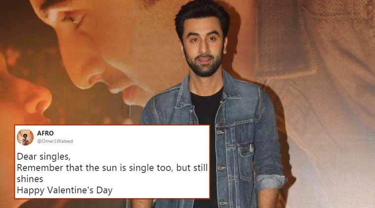 valentine's day, valentine's day tweets, valentine's day single tweets, valentine's day plans, valentine's day wishes, indian express, indian express news