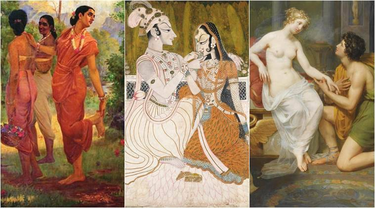 valentine's day, love stories, valentine's day quotes, love stories, greek mythology and love, hindu mythology and love, love stories in literature, indian express, indian express news