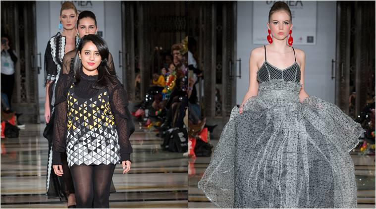 London Fashion Week 2018 Indian Designer Vidhi Wadhwani S Collection Is For The Free Spirited Woman Lifestyle News The Indian Express