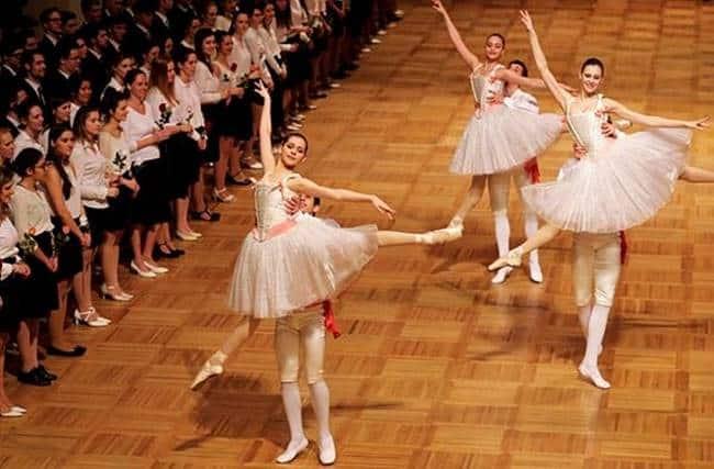 Vienna Opera Ball, Vienna Opera Ball ballet performers, Vienna Opera Ball Wiener Staatsballett, Wiener Staatsballett opening ceremony, indian express, indian express news