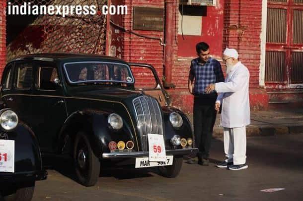 vintage car rally 2018, vintage car rally 2018 mumbai