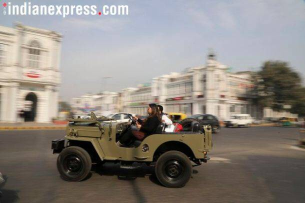 vintage car rally 2018 delhi, vintage car rally 2018