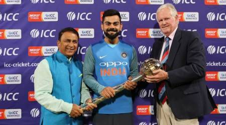 India retained top spot in ICC Test Rankings.