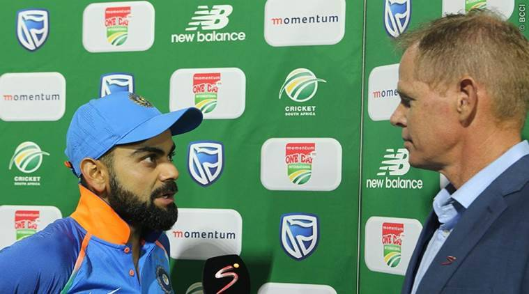 Virat Kohli after win at Port Elizabeth
