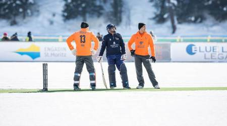 Ice Cricket: Shahid Afridi's Royals defeat Virender Sehwag's Badrutt's Palace Diamonds by sixwickets