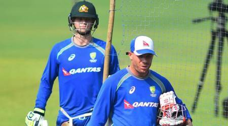 david warner with steve smith
