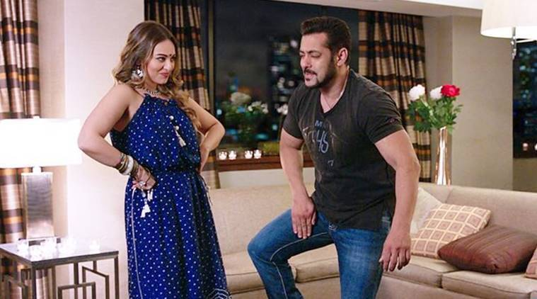 Salman Khan and Sonakshi Sinha in Welcome To New York