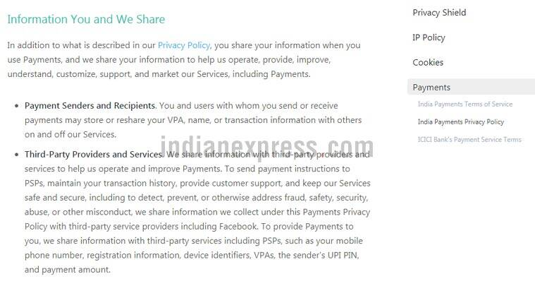 WhatsApp Payments, WhatsApp Payments feature, How to get WhatsApp Payments, Payments on WhatsApp, What is WhatApp Payments, WhatsApp Payments Bank, WhatsApp payments privacy