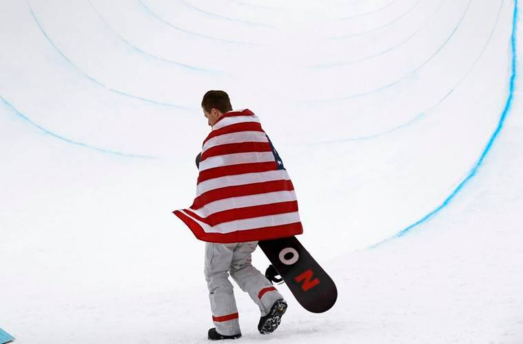 Shaun White wins gold in men's halfpipe with epic final run