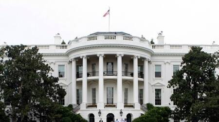 White House locked down over after vehicle strikes barrier