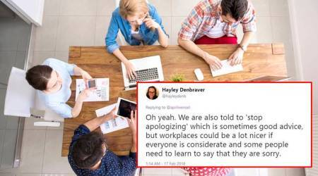 This Twitter thread points out why women saying 'I think' should not be a problem at the workplace