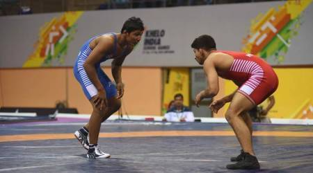 Not quite Khelo India: Only three wrestlers in one event, all stand on the podium