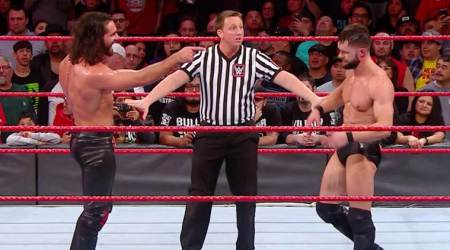 WWE Raw results: Kurt Angle announces first-ever 7-man Elimination Chamber match after Finn Balor, Seth Rollinsqualify