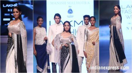 Yami Gautam turns showstopper as Manish Malhotra along with Woolmark company unveils 'Inaya' at LFW 2018