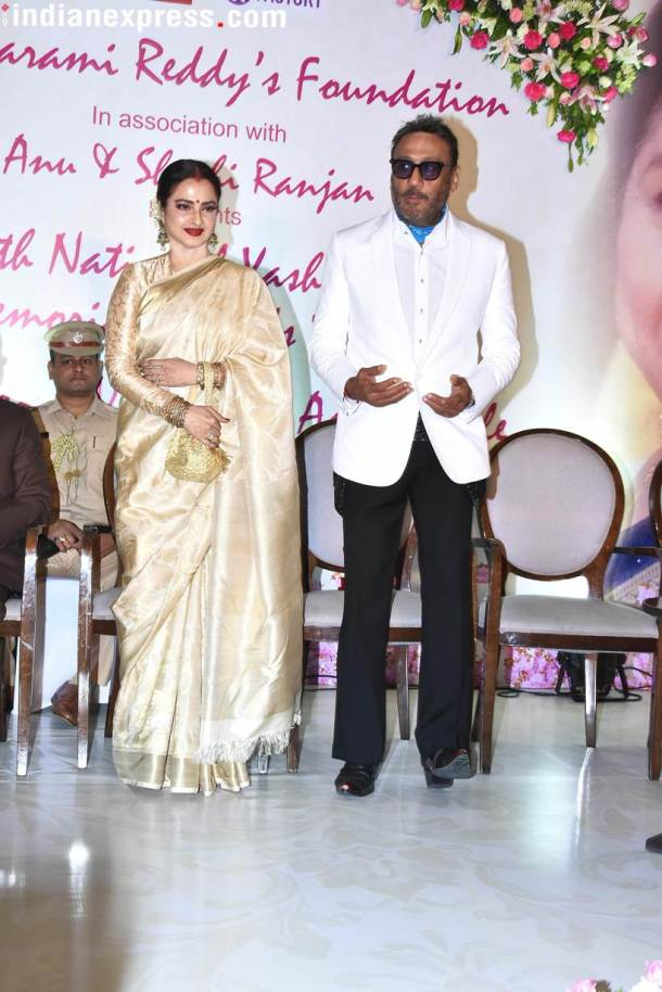 rekha and jackie shroff