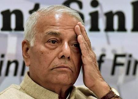 Issue of strikes on security forces needs to be looked into: Yashwant Sinha