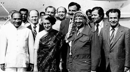 How India's foreign policy vis-a-vis Palestine evolved
