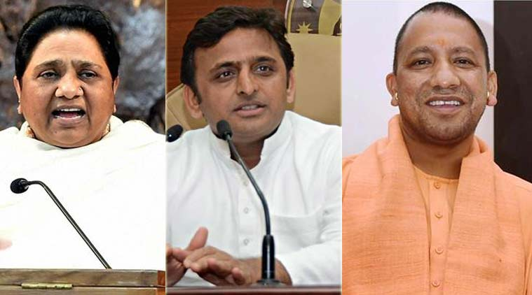 Mayawati, Akhilesh  slam UP govt