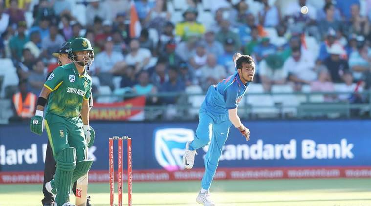 India are playing ODI series against South Africa.