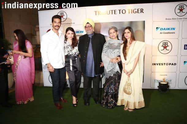 soha ali khan, sharmila tagore, bishan singh bedi, Tiger Pataudi event