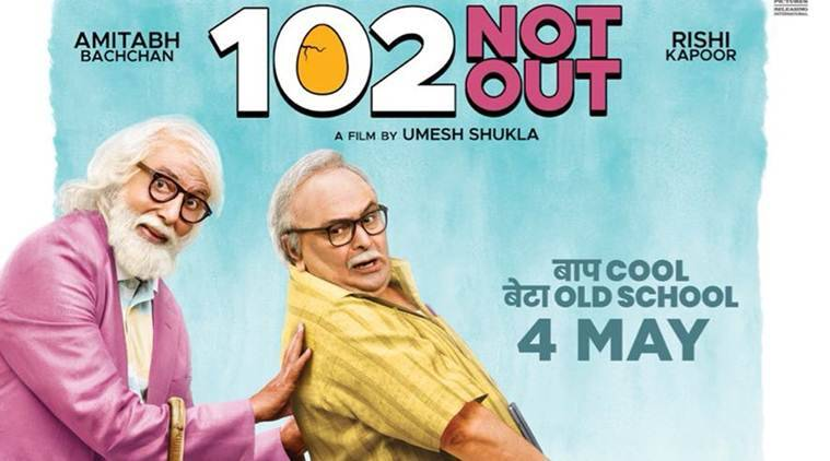 Image result for 102 not out poster