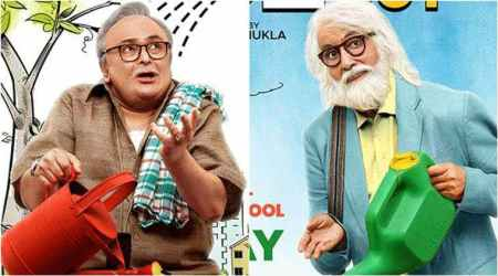 102 Not Out: Amitabh Bachchan and Rishi Kapoor are redefining cool and old school in this new poster