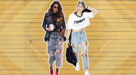 Priyanka Chopra, Anushka Sharma give off ultra cool vibes in distressed denims