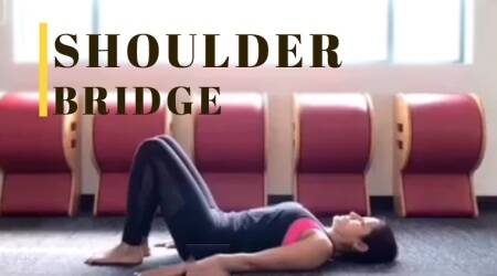 WATCH: Yasmin Karachiwala shows how to sweat it out with the 'Shoulder Bridge'