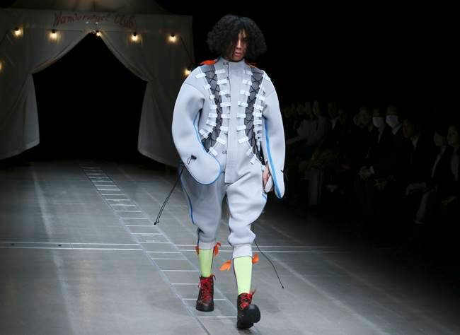 Tokyo fashion Week, Japan Fashion week, Japan Fashion week latest photos, Japan Fashion week latest designs, Japanese designs, Japan Fashion week 2018, indian express, indian express news