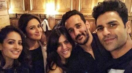 Anita Hassanandani celebrates husband Rohit Reddy's birthday with Yeh Hai Mohabbatein team in London