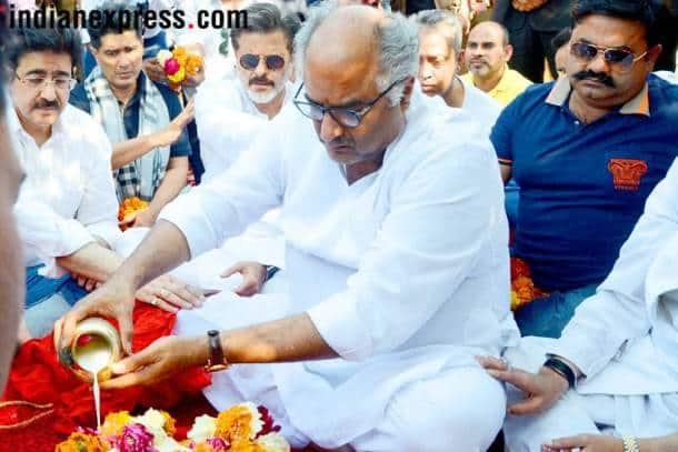 sridevi asthi visarjan in haridwar